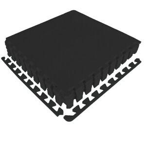 Bodenschutzmatte Pool Puzzlematte 2-8 m² Unterlegmatte SCHWARZ Fliesen EVA NEU
