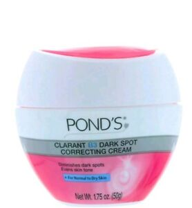 POND'S CLARANT B3 DARK SPOT CORRECTING CREAM 1.75 oz Travel size
