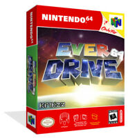 - Everdrive Art 64 N64 Replacement Game Case Box + Box Cover Art Work Only