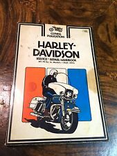 Harley Davidson Service Repair Handbook All 74 cu inch models 1959-1975 Clymer