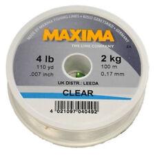 Maxima Clear Monofilament line - 12lbs (5.5kg) - 100m Spool - RRP £3.99