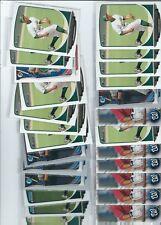 LOT OF 25 CHRIS BOSTICK  ROOKIE CARDS WASHINGTON NATIONALS RANGERS ATHLETICS