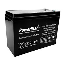 Power-Sonic PSH-12100-F2 Replacement Sealed Lead Acid Battery by PowerStar