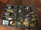 fishing lures lot Vintage Rapala And Too Many To List Includes Over Under Box