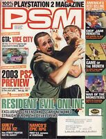 PSM January 2003 Resident Evil Online, GTA: Vice City w/ML VG 070816DBE2