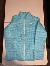 The North Face Girls' ThermoBall Eco Jacket - XL - Acoustic Blue