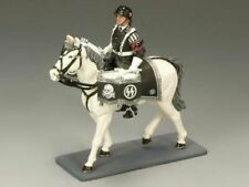 King & Country LAH119 German Leibstandarte AH SS Walking Drum Horse New