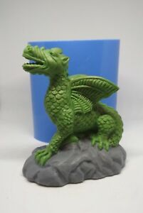 """""""Dragon"""" silicone mold for soap and candles making mould molds"""