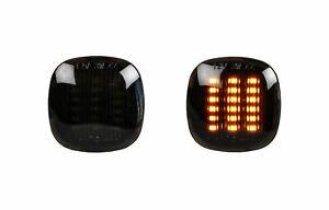 Smoke Black LED Indicator Audi A3 8L A4 B5 Skoda Octavia Fabia SB28