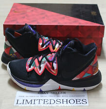 """NIKE KYRIE 5 EP """"CNY"""" CHINESE NEW YEAR BLACK SUMMIT WHITE AO2919-010 MENS"""