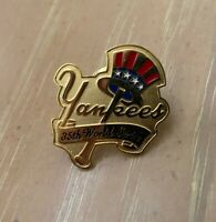 VINTAGE 1998 MLB NEW YORK YANKEES WORLD SERIES BASEBALL PRESS PIN by BALFOUR