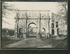 Italie, Rome, Arc de Constantin, ca.1900, Vintage silver print Vintage silver pr