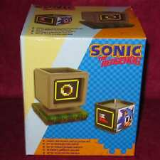 LIMITED EDITION SONIC THE HEDGEHOG CANDLE AND HOLDER SEGA LICENSED OFFICIAL UK