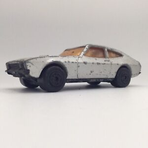 Ford Capri mk2 Siver K59 Matchbox Superkings Series YOL 235F Toy Car More Listed