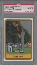 1981 Donruss Golf Jerry Pate Statistical Leader PSA 9 MINT 81887622