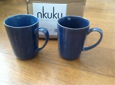 Nkuku - Dana Mugs (Set 2) - Indigo