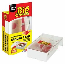 Big Cheese Ready Baited Live Humane Multi Catch Mouse Trap Self Set