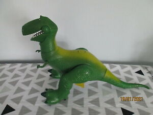 DISNEY TOY STORY TALKING REX MOVEABLE LIMBS
