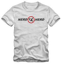T-shirt /Maglietta Nerd Herd Chuck Serie TV Kraz