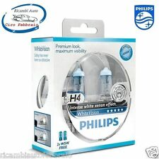 LAMPADE PHILIPS White Vision H4 Ford Tourneo Connect 06/02>4300K + 2 T10 W5W