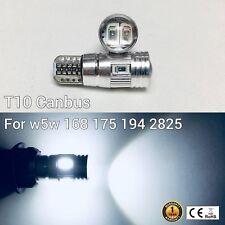 T10 194 168 2825 12961 License Plate Light White 6 Canbus LED M1 For Chevrolet