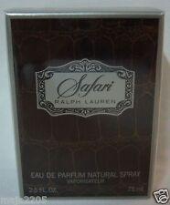 Ralph Lauren Safari Women 75 ml Eau de Parfum Spray, Neu/Folie