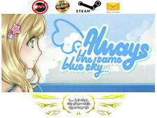 Always The Same Blue Sky... PC Digital STEAM KEY - Region Free