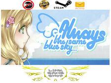 Always The Same Blue Sky... PC Digital STEAM KEY - Region Free