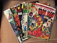 Iron Man Comic Lot Of 7 Books