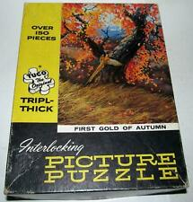 Tuco First Gold of Autumn Picture Puzzle #3150, 150 Pieces USA