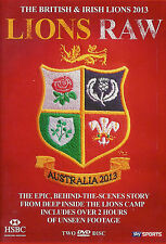 LIONS RAW - BRITISH & IRISH LIONS 2013 RUGBY DVD - USED IN VERY GOOD CONDITION