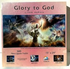 NEW Glory To God by Tom duBois  ~ 1000 pieces  Puzzle made by SunsOut USA