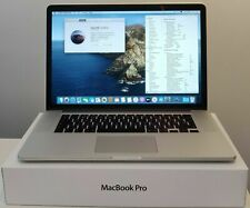 Apple MacBook Pro Retina 15 intel i7 2,2Ghz 16GB 256GB SSD 2880x1800 2014