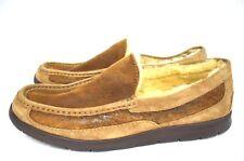 UGG Australia Men's Fascot Indoor/Outdoor Slippers Driving Moccasins No size