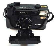 Minolta Hi Matic AF Photo Camera Rokkor 1:2.8 38mm AF Vintage Japan 291EA
