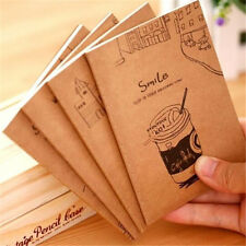 Creative Retro Note Journal Diary Sketch Kraftpaper Cover Notebook 1PC♫
