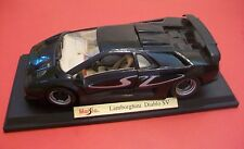 (( LQQK )) LAMBORGHINI DIABLO SV BLACK 1/18 DIECAST CAR MODEL BY MAISTO 31844