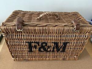 Fortnum and Mason Hamper Basket (40cm x 20cm x 25cm)
