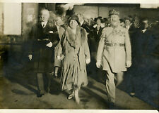 """La REINE de HOLLANDE en FRANCE 1931"" Photo originale G.DEVRED (Agce ROL)"