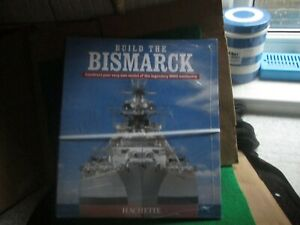 HACHETTE 1:200 SCALE BUILD THE BISMARCK (BINDER) NEW