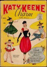 Archie Comics Katy Keene Charm #1 Vg 4.0