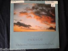 "VINYL 7"" SINGLE - ENOLA GAY - ORCHESTRAL MANOEUVERS IN THE DARK - DIN22"