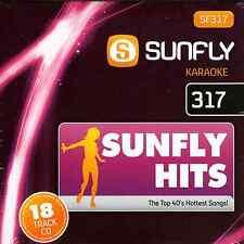 Sunfly Karaoke Hits - SF317 (July 2012)