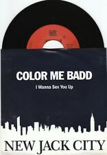 COLOR ME BADD I Wanna Sex You Up 45/GER/PIC OST