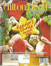 Hilton Head Monthly December 2004 Better Sleep/Dove St Magic/Holiday Tips