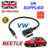 Genuine VW BEETLE MDI 000051446D 3.5mm jack MP3 iPod in car Cable replacement