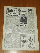 MELODY MAKER 1946 #685 SEPT 7 JAZZ SWING VICTOR FELDMAN IRVING BERLIN INGLEZ