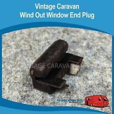 Caravan WIND OUT WINDOW END PLUG ( X 2 ) Vintage Viscount Franklin Millard W0133