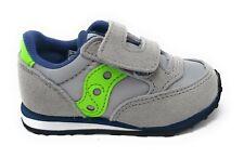 Saucony Baby Jazz HL GreyGreenBlu, SL263373, chiusura strappo, grigio/verde