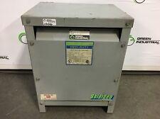 11 KVA TESTED Dry Type Isolation Transformer HV 460 Delta LV 460Y/266 DT651H11S